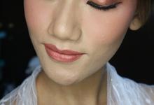 Simple Flawless Wedding Makeup Hairdo  by Hana Gloria MUA