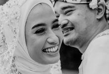 Hanifia & Pandu Wedding at On Green Rafles Hills by AKSA Creative