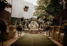 Hanna & Yoga Wedding at Azila Villa by AKSA Creative