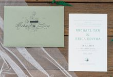 Wedding Invitation - Olive Green by Kanoo Paper & Gift