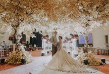 Wedding of Benjamin & Yohana by Royal Ballroom The Springs Club
