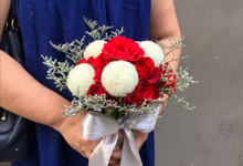 Wedding Bouquet by HARA Florist