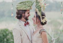 Wedding Headdresses by Make A Scene! Bali