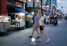Harfy Chindy Pre-Wedding - Street Food by Ducosky