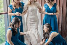 Harfy Chindy Wedding | Chindy and the Bridesmaid by Ducosky