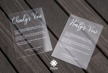 Harfy Chindy Wedding | The Holy Matrimony by Ducosky