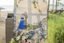 Harfy Chindy Wedding | Beach Wedding by Ducosky