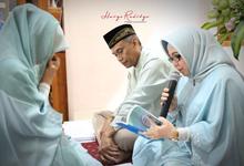 Pengajian menjelang pernikahan Mbak Syfa by haryo radityo photography