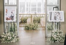 The Wedding of Hasna and Dimas by Elior Design
