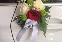 Wedding of Anit ❤️Novan by Hatiku Florist