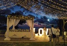 Ellyana ❤️ Wahyu Wedding in Bali by Hatiku Florist