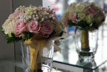 Ratri ❤️ Dodo Wedding Bouquet by Hatiku Florist