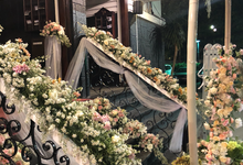 Church Decor Selvina by Hatiku Florist