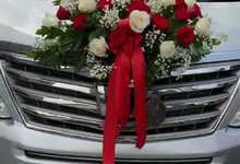 Wedding Car Decor 5/1/18 by Hatiku Florist