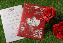 Lasercut (Click For Other Choices) by Jasmine Invitation Card