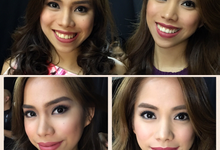 Fashion show w/ Pbb twins Joj, Jai and Max Collins  by HD Make up by Joyc Young