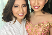 50th birthday with miss Sofia and her daughter  by HD Make up by Joyc Young