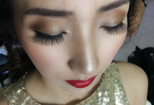 Chinatown Tv Host miss Bea Tan by HD Make up by Joyc Young