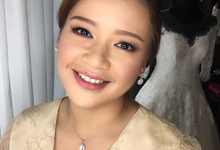 Wedding of miss Celine my Singapore based bride  by HD Make up by Joyc Young