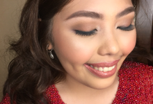 Mica's 18th Birthday  by HD Make up by Joyc Young