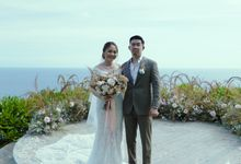 Jonathan & Shannon at Wonderland Uluwatu by Catalina Flora