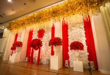 Christopher and Juriani - Engagement Reception by Blossom Decor