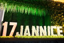sweet17 of Jannice by Blossom Decor