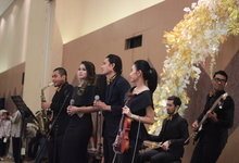 Full Band with saxo & violin by HEAVEN ENTERTAINMENT