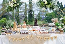 Wedding of Hendry & Audrey - Jardin Sweet Corner by Questo La Casa Pastry