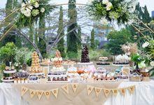 Wedding of Hendry & Audrey - Jardin Sweet Corner by Questo La Casa Pastry