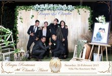 Bagus & Claudie Wedding Party by Dreamcatcher Photobooth Bali