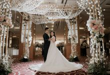 Decoration Wedding Handoko & Grace by Mercure Jakarta Kota