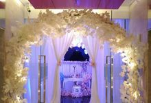 Wedding of Mr. Aland And Ms. Merrie by La'SEINE Function Hall