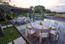 Intimate Romantic Moment at Hideaway Villas Bali by Hideaway Villas Bali