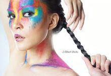 photoshoot by Hilda Winaz Make Up Artist