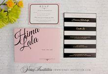 Hima and Lala by Vinas Invitation