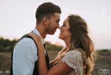 The Prewedding of Josh and Natalie by Historia Bali