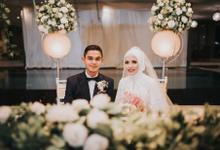 The Wedding of Hamdi & Nona by Historia Wedding Planner