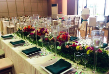 Food Tasting  Event at Grand Cobo Pavillion by Hizon's Catering