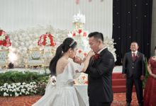 Wedding of Handrian & Martha by Royal Ballroom The Springs Club