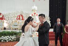 Wedding of Handrian & Martha by Royal Ballroom The Springs Club