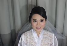 Wedding Day Makeup Hairdo For Ersen - Fenny by Rinny Lee Makeup