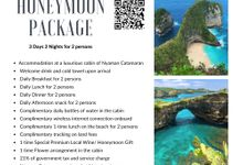 Honeymoon Package 4 Days 3 Nights (Sail to Nusa Lembongan & Nusa Penida) by Nyaman Catamaran
