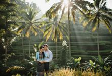 matahari terbit di sawah by Maxtu Photography