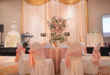 Wedding Reception Banquet by JEN Penang Georgetown by Shangri-La