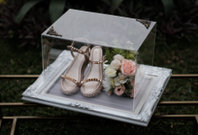 Silver White Elegant by House of Raline Wedding Hampers