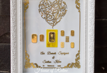 Frame Mahar Full Laser Cut by House of Raline Wedding Hampers