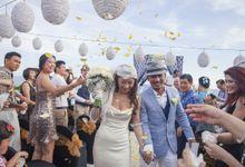 Casey & Howard by baliVIP Wedding