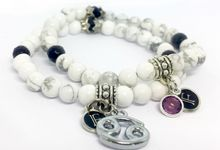 Custom Birthstone and Zodiac Bracelets by FixationShop