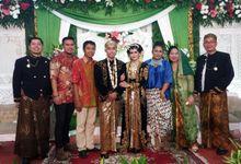 Javanese Wedding  Sandy & Dara 10 December 2016 by Simply Fresh Band